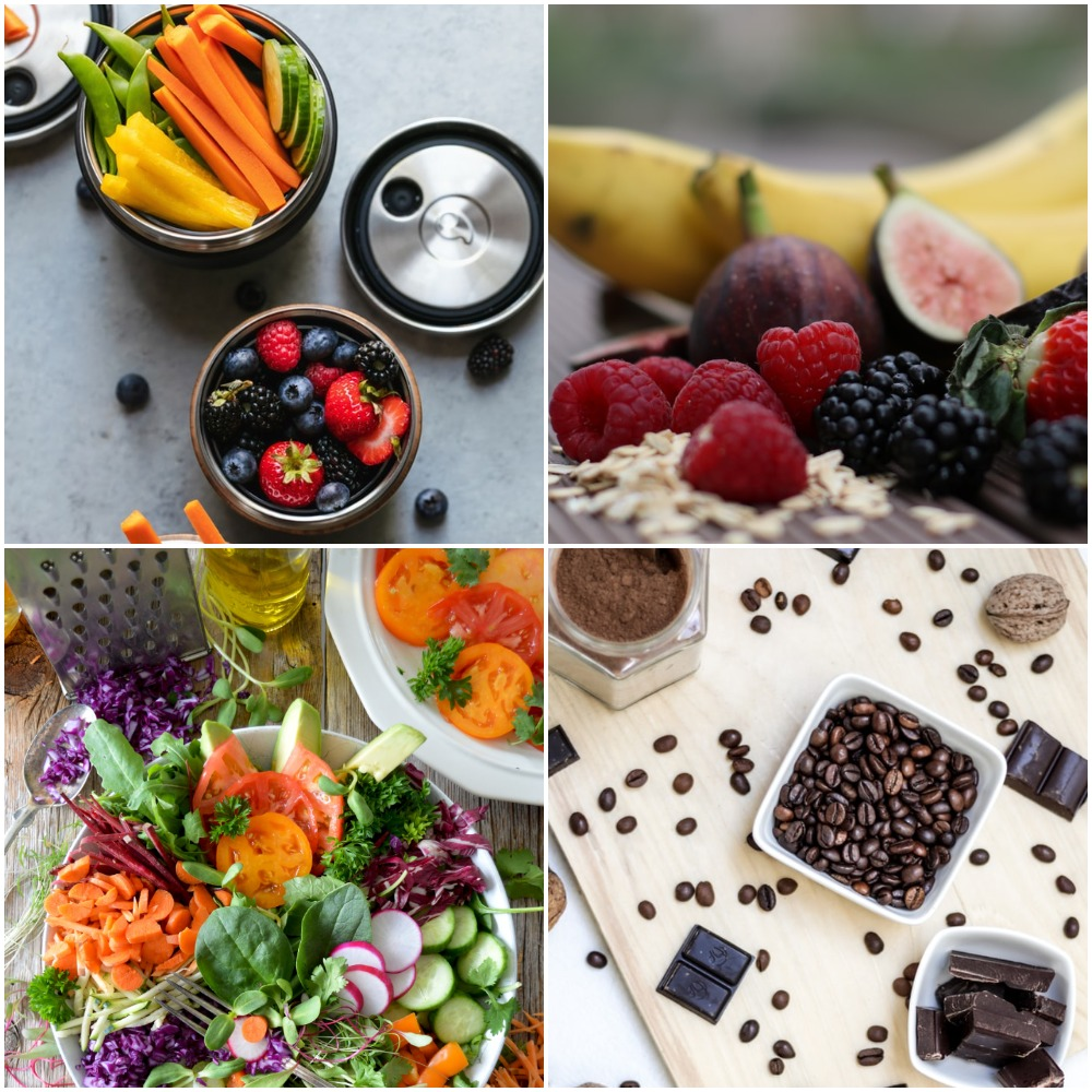new year's resolutions - healthy diet