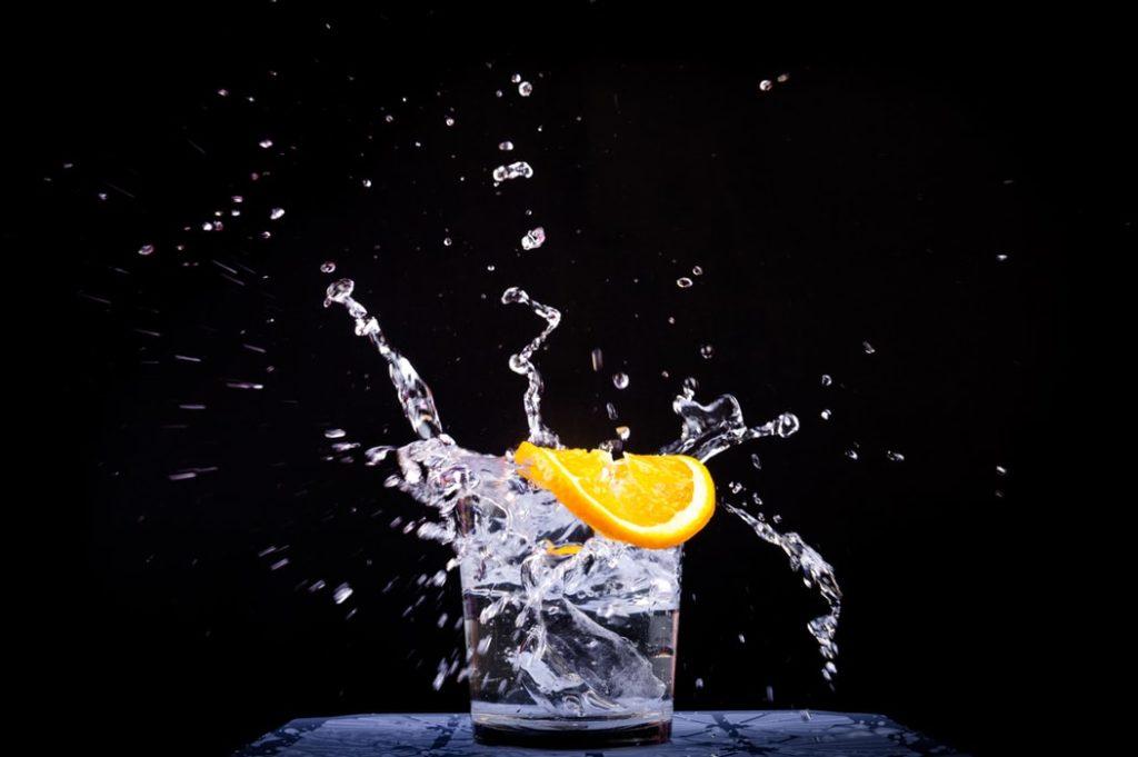 new year's resolutions - hydratation