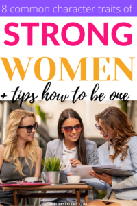 characteristics of strong women