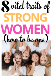 character traits of strong women